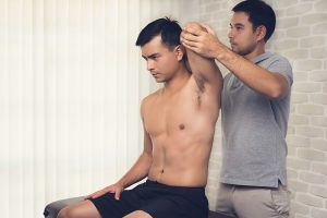 Osteopaths assess and diagnose sports injuries