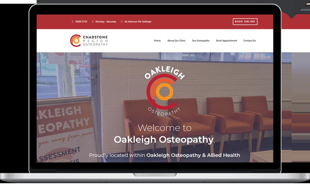 Oakleigh Osteopathy Book Online